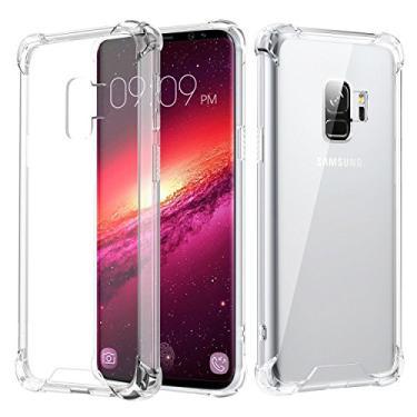 Capa Anti Shock para Samsung Galaxy A8 PLUS 2018, Cell Case, Capa Anti-Impacto, Transparente