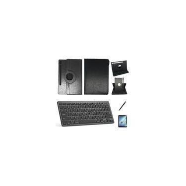Kit Capa/Teclado/Can/Pel Galaxy Tab S6 T860/T865 10.5 Preto