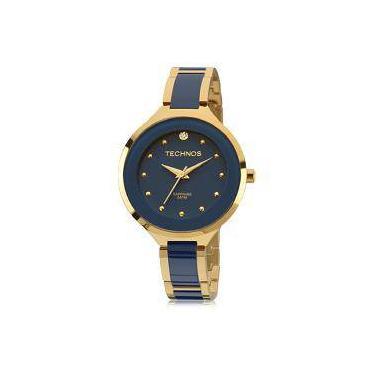Relógio de Pulso Feminino Technos Cerâmica Submarino   Joalheria ... d1b6e772db