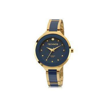 Relógio de Pulso Feminino Technos Cerâmica Submarino   Joalheria ... 187f81f9d7