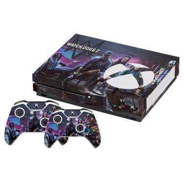 Skin Xbox One S Watch Dogs 2 B