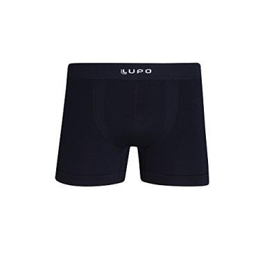 Cueca Lupo Boxer - Micromodal Sem Costura (Adulto) Tamanho: Gg | Cor: Preto
