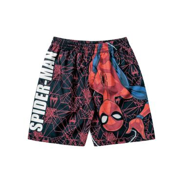 Bermuda em Microfibra do Spider-Man, Fakini, Meninos, Cinza, 1