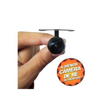 Câmera De Ré Micro Colorida C Suporte Borboleta E Para-choque