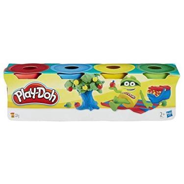 Imagem de Kit 4 Mini Potes De Massinha Play-Doh - Hasbro 23241