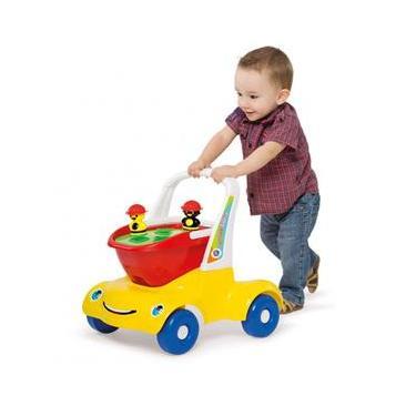 Bebê Passeio Didático Menino 952 - MercoToys