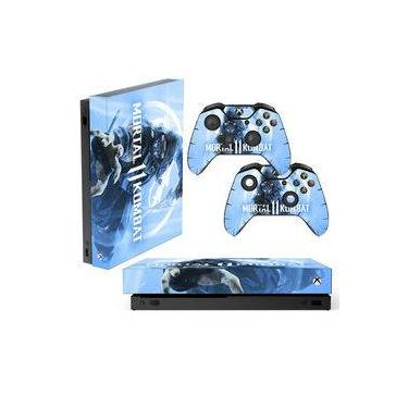 Skin Xbox One X Sub-Zero Mortal Kombat 11