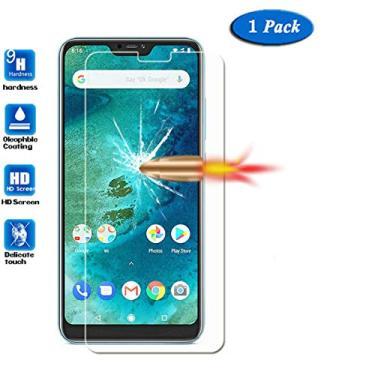 MI A2 Lite/Redmi 6x - Película Protetora de Vidro Temperado p/Smartphone Xiaomi Mi A 2 Lite/Redmi 6 pro - Pronta Entrega