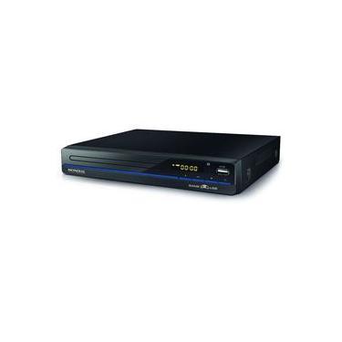 DVD Mondial D-21 Vídeo Player Game USB e Bivolt