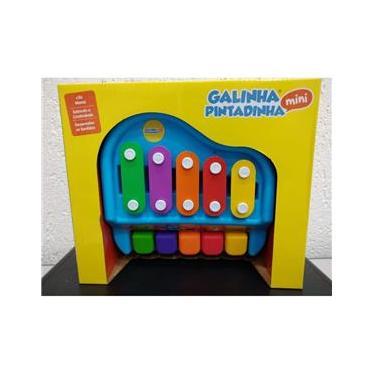 Imagem de Brinquedo Infantil Piano Xilofone Galinha Pintadinha 20206