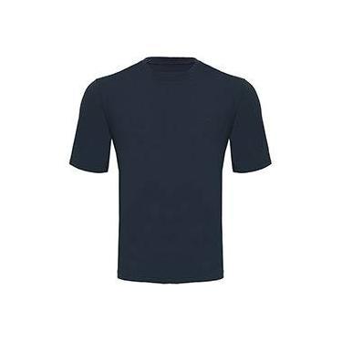 0a12e0c4e2 Camiseta Silver Fresh Masculina com Proteção Solar 50 Azul Manga Curta  Curtlo