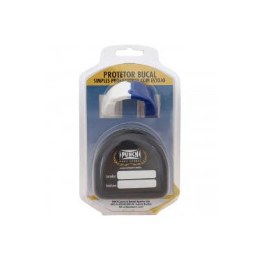 29c4012270 Protetor Bucal com Estojo Punch Dual Color 440 - Adulto - BRANCO AZUL Punch