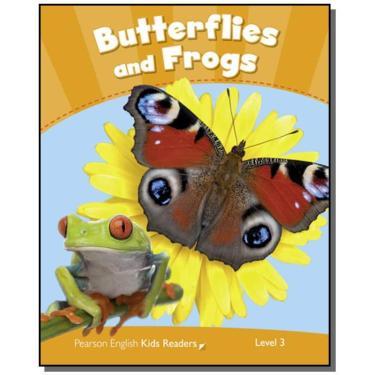 Penguin Kids 3 - Butterflies And Frogs - Reader Clil - Wilson, Rachel - 9781408288337