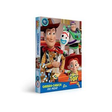 Imagem de Quebra-Cabeça Toy Story 4 com 100 Peças Toyster