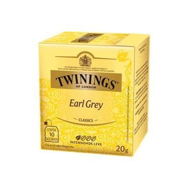 Chá Preto 20 G Earl Grey Twinings Of London 20g 10 Sachês