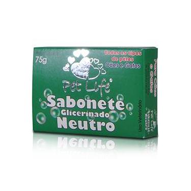 Sabonete Pet Life Neutro 75 G
