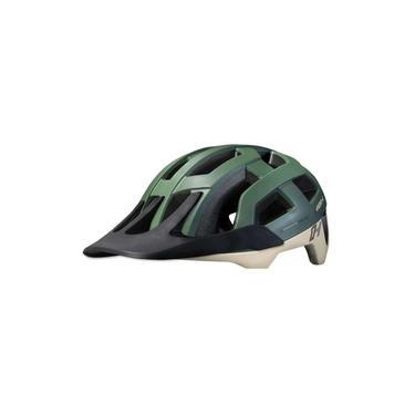 Imagem de Capacete Bicicleta Enduro Mtb High One Cervix - Cinza Verde