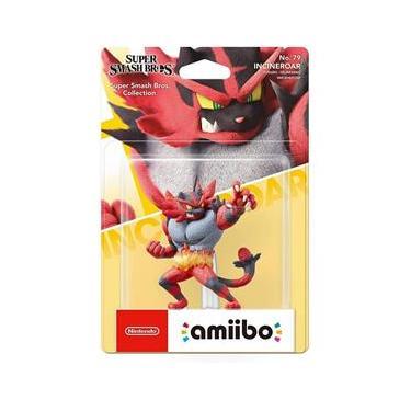 Amiibo Incineroar Super Smash Bros - Switch / 3D