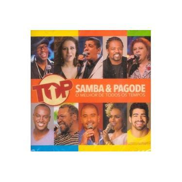 Imagem de CD Top Samba & Pagode - O Melhor De Todos Os Tempos