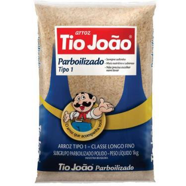 Arroz Tio João Parboilizado 1kg