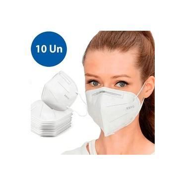 Kit 10 Máscaras Reutilizável N95 Proteção Respiratória Pff2