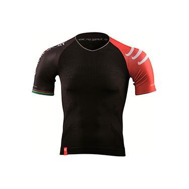 Camisa de Compressão Triathlon Preto