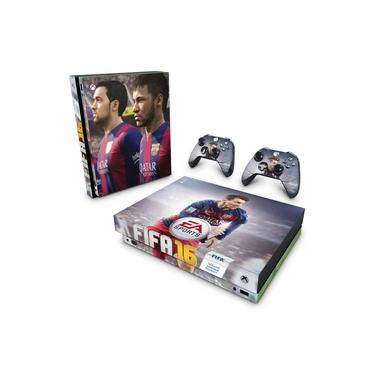 Skin Adesivo para Xbox One X - Fifa 16