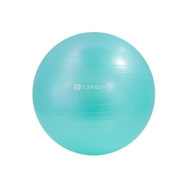 Bola de Pilates Suiça Oxer Gym Ball com Bomba de Ar - 55cm - VERDE Oxer 1d3b5badb6e36