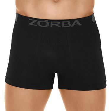 Cueca Boxer Microfibra Extreme, Zorba, Masculino, Preto, P