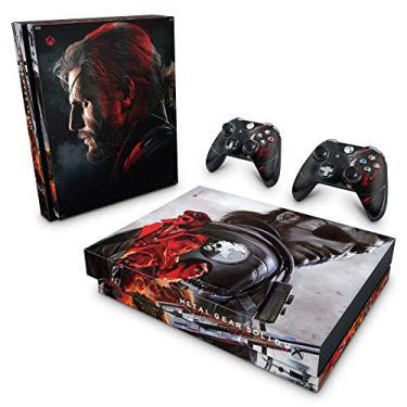 Skin Adesivo para Xbox One X - Metal Gear Solid 5: The Phantom Pain