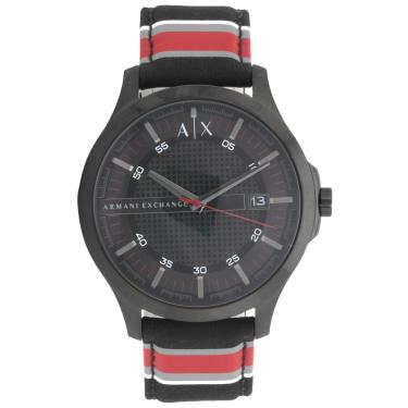 55d032e1552 Relógio Armani Exchange AX2197 2PN Preto Vermelho Armani Exchange  AX2197 2PN masculino