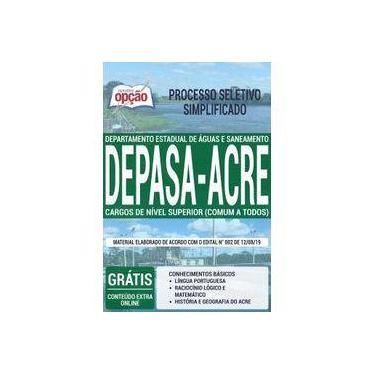 Imagem de Apostila Depasa Acre - Cargos De Nível Superior