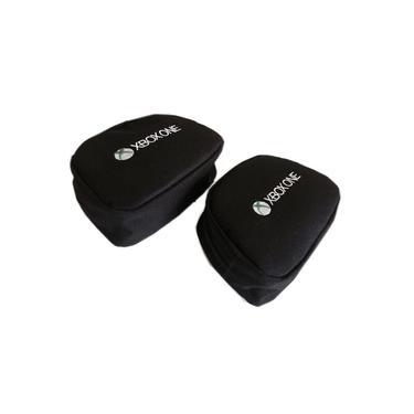 Capa console + 2 cases controle XBOX One Fat - Kit 3 Peças