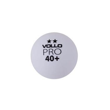Kit 6 Bolas Tenis de Mesa Vollo Branca