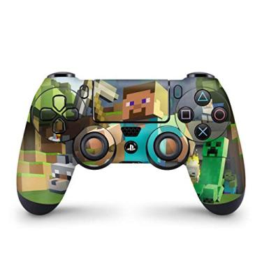 Skin Adesivo para PS4 Controle - Minecraft