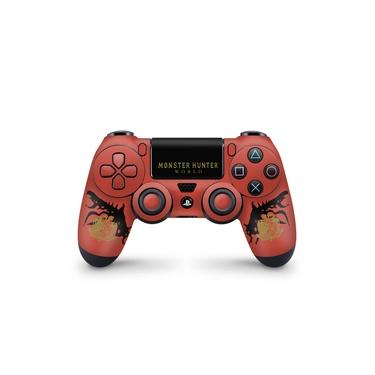 Skin Adesivo para PS4 Controle - Monster Hunter Edition