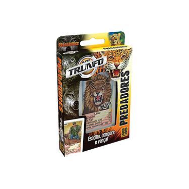 Imagem de Super Trunfo - Predadores - Grow