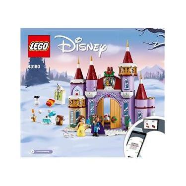 Imagem de Lego Disney Princess Inverno Castelo Bela 238 Peças - 43180