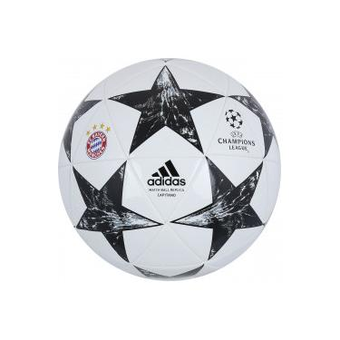 Bola de Futebol de Campo adidas Bayern de Munique Finale 17 Capitano -  BRANCO PRETO dc7fe84699626