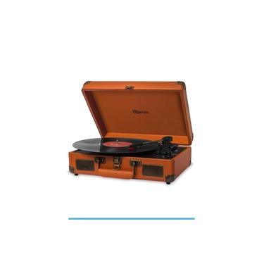Vitrola Toca Discos Raveo Sonetto Caramelo com USB e Bluetooth