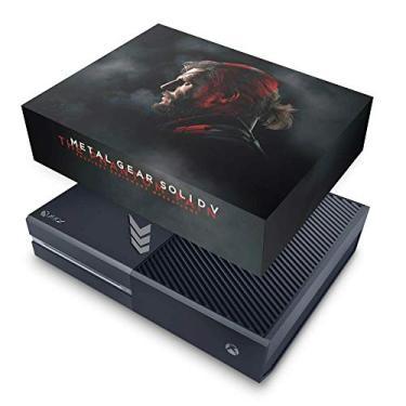 Capa Anti Poeira para Xbox One Fat - Metal Gear Solid 5: The Phantom Pain