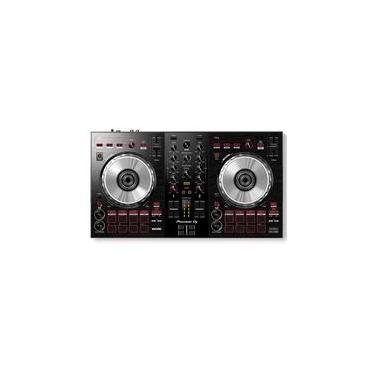 Controladora Pioneer para DJ, 2 Canais para Serato - DDJ SB3