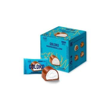 Bombom de Marshmallow 18un x 11,5G Zero Açúcar Goldko