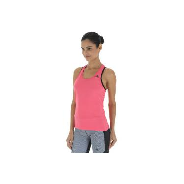 03b3f0ef2a Camiseta Regata adidas D2M Solid - Feminina - Rosa Esc Preto adidas