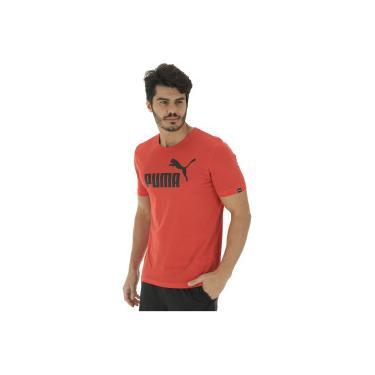 98bc9d6bd8 Camiseta Puma Ess No. 1 Logo - Masculina - VERMELHO Puma