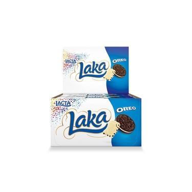 Chocolate Branco Laka Oreo 20g c/20 - Lacta