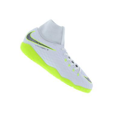 Chuteira Futsal Nike Hypervenom Phantom X 3 Academy DF IC - Infantil Nike Unissex