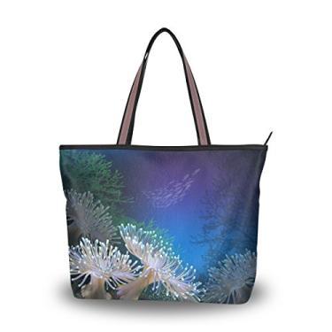 Bolsa de ombro Cooper Girl Coral com alça superior e grande capacidade, Multicolorido., Large