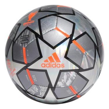 Bola Futebol Campo Adidas UCL Finale 21 Hologram GK3498, Cor: Cinza, Tamanho: 5