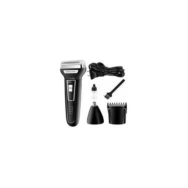 Maquina De Barbear Aparador Pelos Elétrico Corta Cabelo 3 Em 1 Kemei 6776